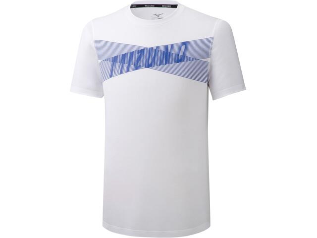Mizuno Core Graphic Koszulka Mężczyźni, white